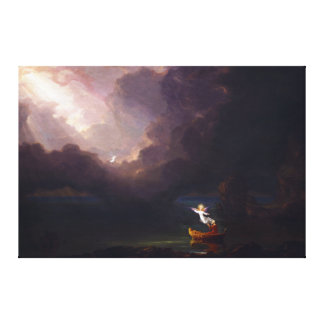 The Voyage of Life Old Age by Thomas Cole Canvas Print