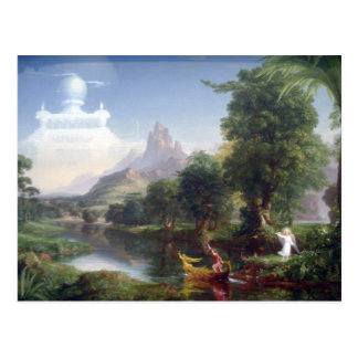 The Voyage of Life - Youth by Thomas Cole Postcard