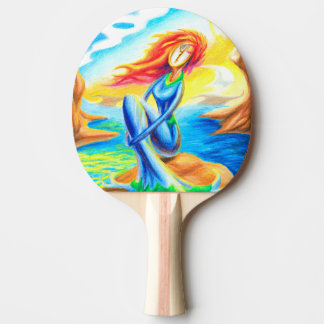 The Wait Ping Pong Paddle