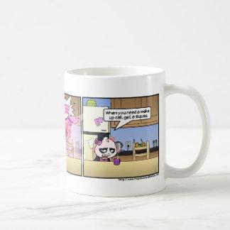The Wake Up Call Coffee Mug