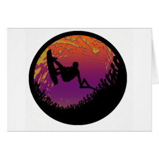 THE WAKEBOARD SCARECROW CARD