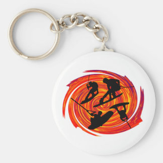 THE WAKEBOARDERS WAY KEYCHAIN
