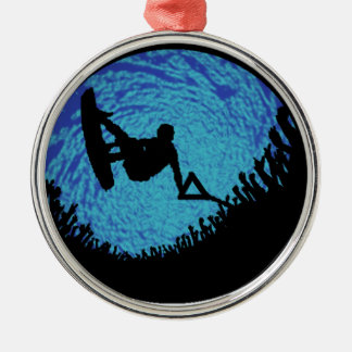THE WAKEBOARDING ONE METAL ORNAMENT