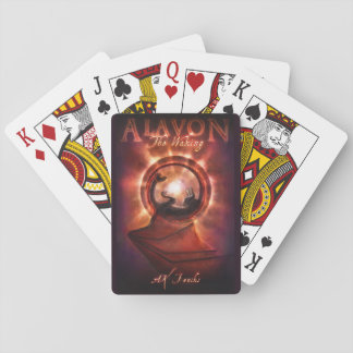The Waking Cover Playing Cards