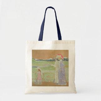 The Walk, 1903 Budget Tote Bag
