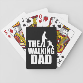 The Walking Dad Playing Cards