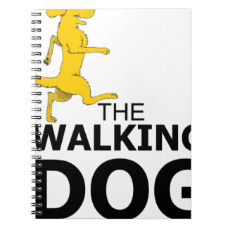 The walking dog notebook