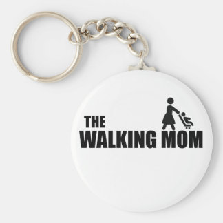 The Walking Mom Key Ring