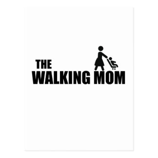The Walking Mom Postcard