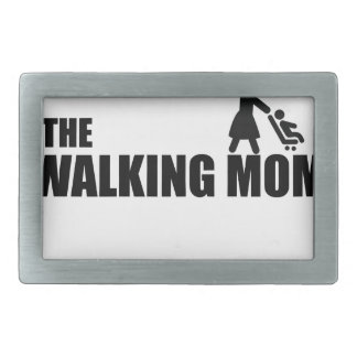 The Walking Mom Rectangular Belt Buckles