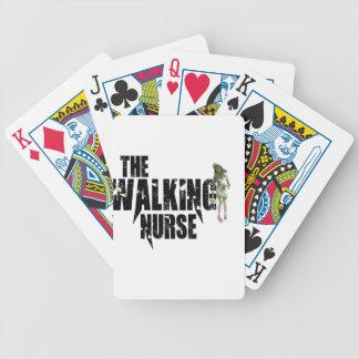 The Walking Nurse Bicycle Playing Cards