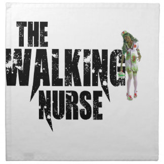 The Walking Nurse Napkin