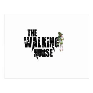 The Walking Nurse Postcard