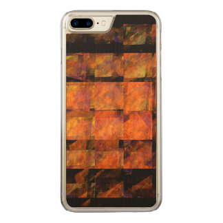 The Wall Abstract Art Carved iPhone 7 Plus Case
