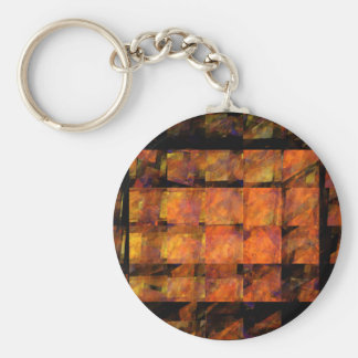 The Wall Abstract Art Keychain