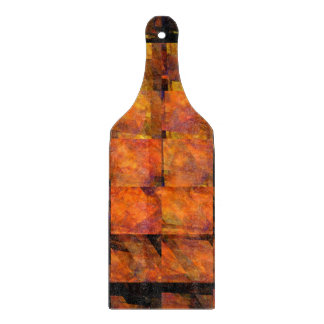 The Wall Abstract Art Paddle Cutting Board