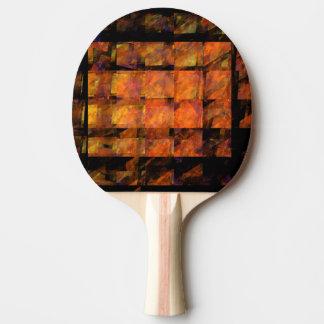 The Wall Abstract Art Ping Pong Paddle