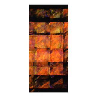 The Wall Abstract Art Rack Card