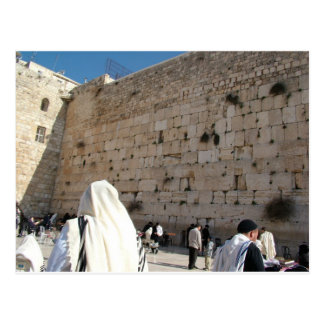 The Wall of the Sorrows in Jerusalem, City Saint Postcard