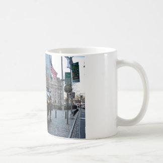 The Wall St Bull Coffee Mugs