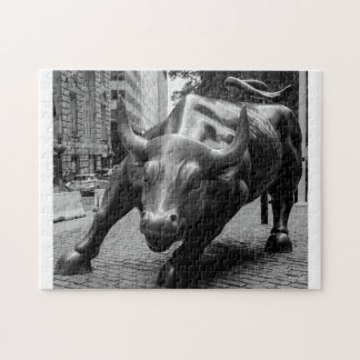 The Wall Street Bull New York. Jigsaw Puzzle