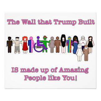 The Wall that Trump Built Photo Print
