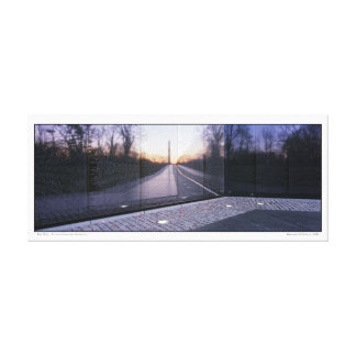 The Wall- Vietnam Veterans Memorial Canvas Print