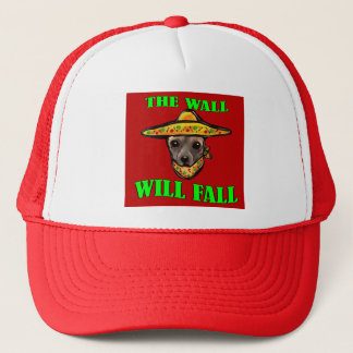 THE WALL WILL FALL TRUCKER HAT