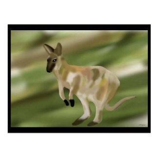 The Wallaby Jump Postcard
