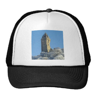 The Wallace Monument Stirling Scotland in winter Cap