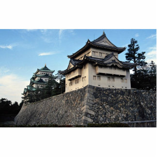 The walls and towers of Japan s Nagoya Castle stan Photo Cutouts