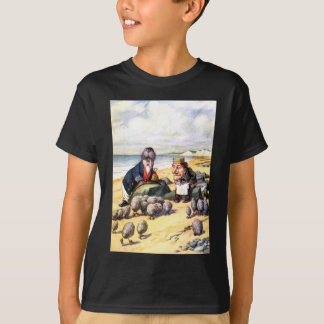 THE WALRUS AND THE CARPENTER IN WONDERLAND T-Shirt