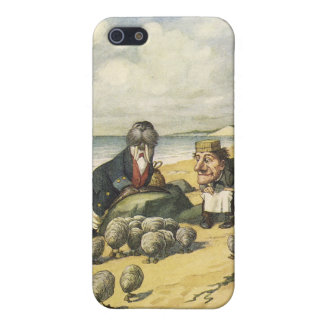 the walrus and the Carpenter iphone case