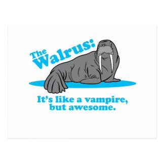 The Walrus Vampire Postcards