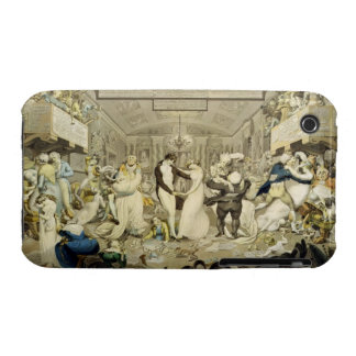 The Waltz (coloured engraving) Case-Mate iPhone 3 Case