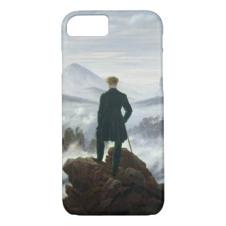 The Wanderer above the Sea of Fog, 1818 iPhone 7 Case