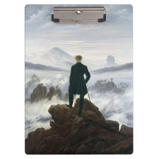 The Wanderer above the Sea of Fog Clipboards