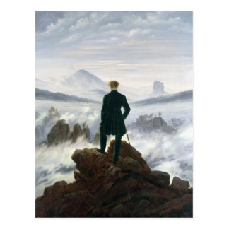 The Wanderer above the Sea of Fog Postcard
