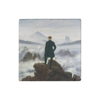 The Wanderer above the Sea of Fog Stone Magnet