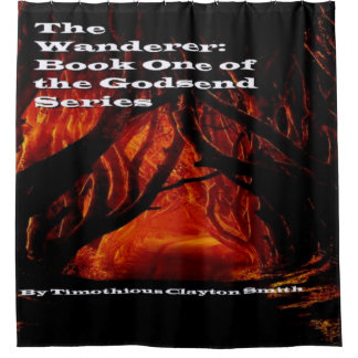 The Wanderer Cover  Shower curtain. Shower Curtain