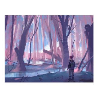 The Wandering Wanderer Postcard
