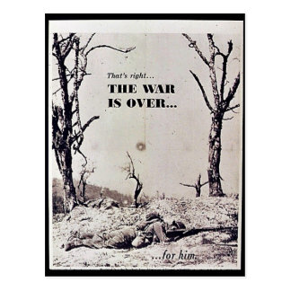The War Is Over Postcards