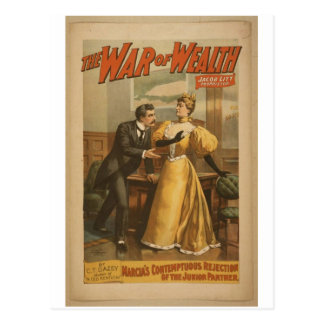 The War of Wealth Post Cards