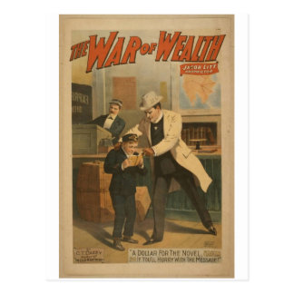 The War of Wealth Postcards