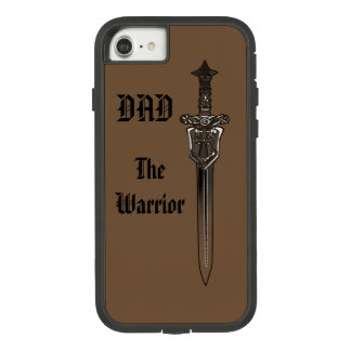 ''THE WARRIOR DAD'' with sword Case-Mate Tough Extreme iPhone 8/7 Case