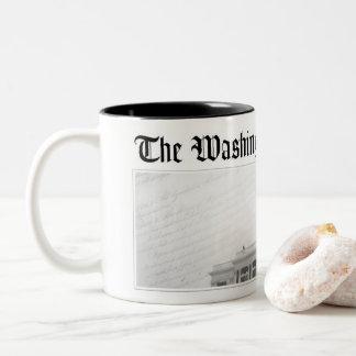 The WashCo Two Tone Coffee Mug