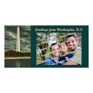 The Washington Monument Photocard Custom Photo Card