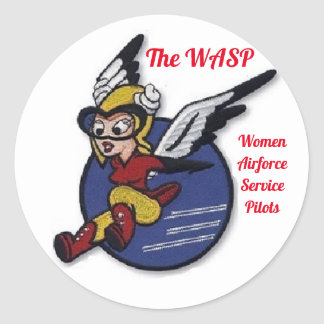 The WASP Fifinella sticker