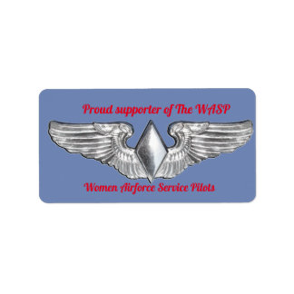 The WASP wings sticker