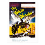 """The Wasp Woman"" Postcard"